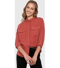 camisa terracota active
