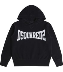 dsquared2 boxer logo hoodie