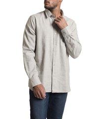 camisa franel gris rockford