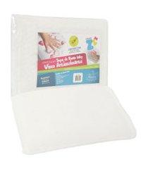 travesseiro fibrasca visco antissufocante 30x40cm off-white