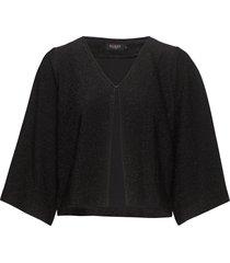 ziggy jacket blus långärmad svart soaked in luxury