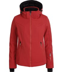 icepeak ski jas women erie coral red-maat