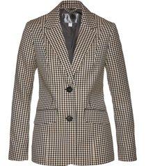 blazer a quadretti (grigio) - bpc selection premium