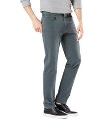 dockers men's ultimate slim-straight fit smart 360 flex stretch jean-cut pants, created for macy's