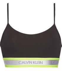 calvin klein unlined bralette top black