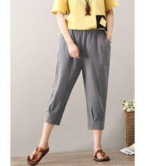 pantaloni in vita elastica vintage