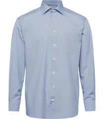 classic fit blue poplin shirt skjorta business blå eton