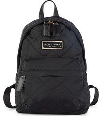 marc jacobs women's mini quilted backpack - purple gum