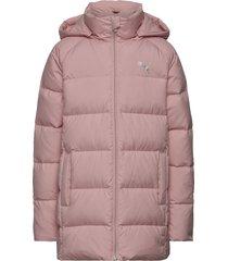 long down jacket g gevoerd jack roze puma