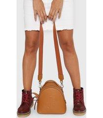 mochila de cuero suela prüne
