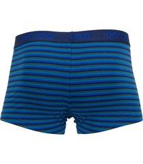 hom boxershort boxerlines 2-pak blauw