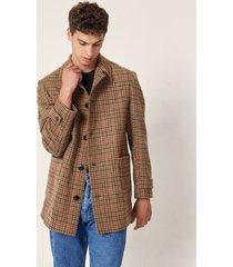 tapado marrón prototype scottish coat