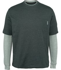 wolverine men's miter ii tee slate blue heather, size l