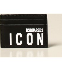 dsquared2 wallet dsquared2 credit card holder in leather