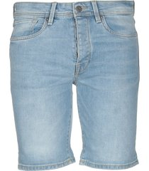selected homme denim shorts