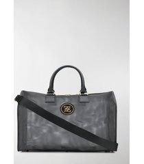 fendi large karligraphy mesh travel bag