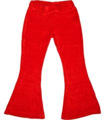 pantalón rojo cante pido