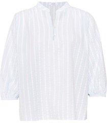 opus blouse flanja stripe