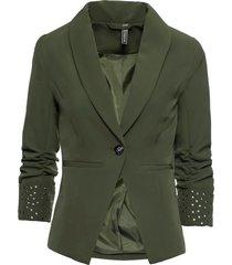 blazer con borchie (verde) - rainbow