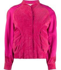 a.n.g.e.l.o. vintage cult 1980s oversized sleeves jacket - pink