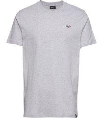 lind tee t-shirts short-sleeved grå h2o