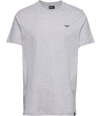 lind tee t-shirts short-sleeved grå h2o