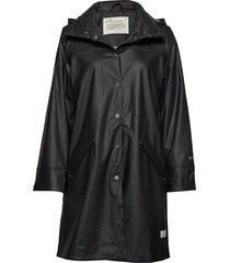 dashing drizzel rain jacket regenkleding zwart odd molly