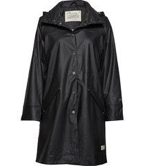dashing drizzel rain jacket regenkleding zwart odd molly