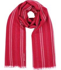 rebecca minkoff metallic-striped scarf