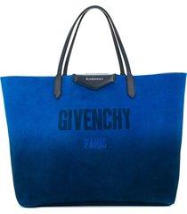 givenchy reversible shopper tote - metallic