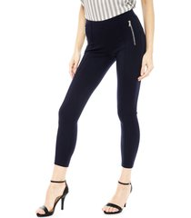 jegging vero moda ava nw zip azul - calce ajustado