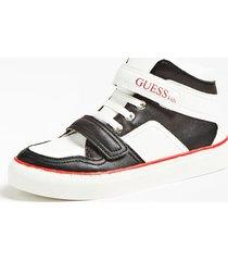 sneakersy z powlekanymi wstawkami model luiss (27-34)
