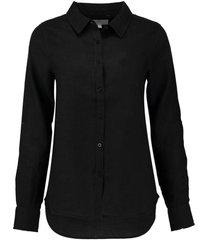 blouse linnen zwart