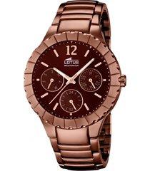 reloj trendy chocolate lotus