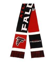 forever collectibles atlanta falcons colorblock cropped big logo scarf
