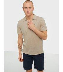 morris delon ss jersey shirt t-shirts & linnen khaki