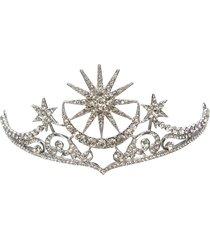 monili dei capelli della fascia di promenade del partito di cerimonia nuziale di cerimonia nuziale di cerimonia nuziale di cristallo della regina della luna della st
