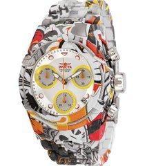 reloj invicta 30221 multicolor acero inoxidable