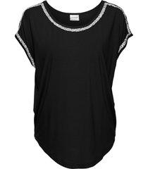 maglia con glitter (nero) - bodyflirt