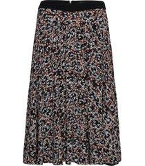 ronda midi skirt knälång kjol multi/mönstrad superdry
