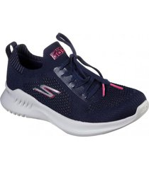 zapatos mujer  go run mojo 2.0-tinker azul skechers