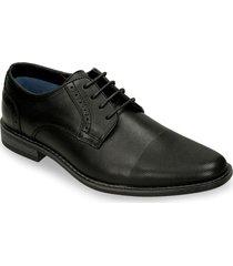 zapatos de cordon negro bata pantel cor mujer