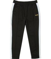 diadora black pants 80s 173281-80013