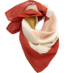 madewell bandana in afterglow red at nordstrom