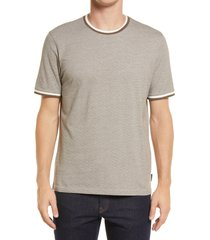 ted baker london fresair textured t-shirt, size 7 in brown at nordstrom