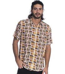 camisa long island shape masculina
