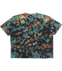 flame tie-dye t-shirt