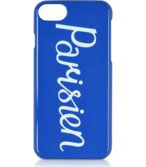 maison kitsuné designer handbags, parisien royal blue iphone 7 case