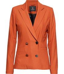 cindy caya blazer blazer kavaj orange bruuns bazaar