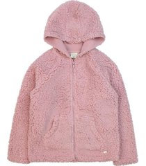 chaqueta day to day rosado ficcus